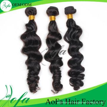 Body Wave 5A \ 6A \ 7A Extensión brasileña del pelo humano de la armadura del pelo de Remy