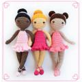 Direct-factory Wholesales 100% Cotton Baby/Kids Crochet Amigurumi Doll Stuffed Toys