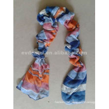 wholesale cheap polyester rainbow scarf shawl