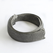 Kabel Flexibel Carbon Fiber Braided Sleeve