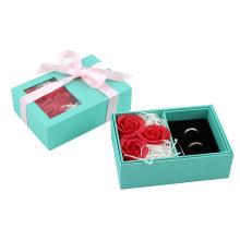 Rose Gift Set Jewelry Box Custom Logo