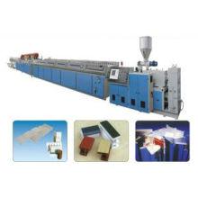 Línea de producción WPC, línea de producción de perfiles WPC (XSJ65)