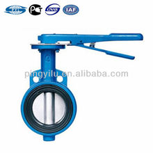 Russian standard wafer type cast iron butterfly valve handles