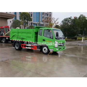 Dongfeng 4x2 Compression type amarrage camion à ordures