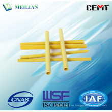 Brown Phenolic algodón tubo de aislamiento eléctrico