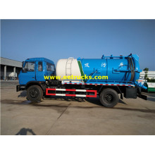 Dongfeng 10000 litros camiones tanque séptico