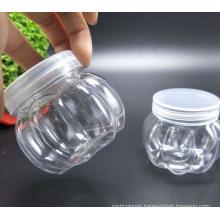 150ml Plastic Pumpkin Shape Pet Jar