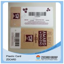 Luxus Geschenkkarte / Druck Geschenkkarten / Barcode Geschenkkarte