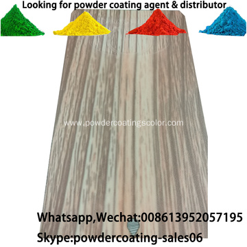 wood grain effect Heat transfer base primer powder coating