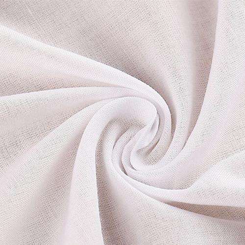 100% Cotton Voile White Fabric