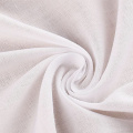 100% Cotton Voile White Fabric