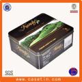 Customized Food Grade High Quality Tea Packaging Tin Box