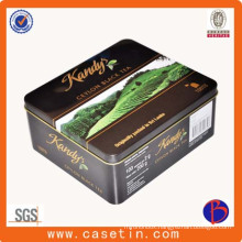 Customized Food Grade High Quality Tea Packaging Tin Box