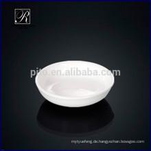 Hersteller Porzellan runde Sojasuppe Gericht Butter Untertasse
