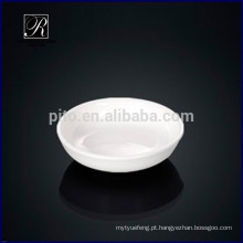Fabricantes de porcelana redonda soja pires prato pires manteiga