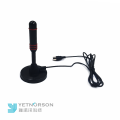 Wholesale High Gain 25dBi Portable DVB T T2 Digital Indoor HD TV Antenna with Amplifier and IEC Female Connector