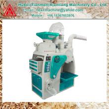 Usine offre 1 tonne auto mini moulin à riz machines