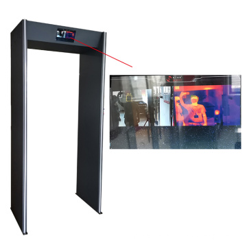 AI Thermal Imaging Body Temperature Scanner Walk Through