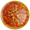 Plaque à pizza ronde en mélamine à 14 pouces