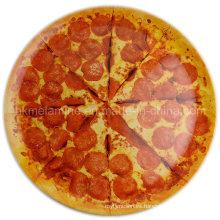 Plato redondo de la pizza de la melamina 14inch