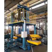 La máquina de fundición a presión de baja presión.