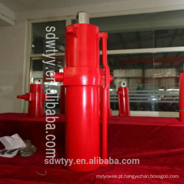 150/140/130 tonelada cilindro hidráulico