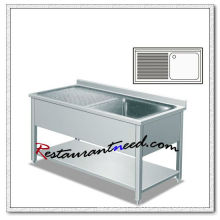 TS269 Single Sink With Splashback