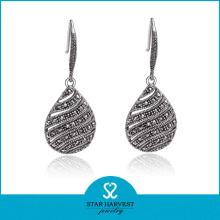 Fashion Costume Silver Earring Jewellery Design (E-0216)