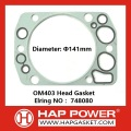 BENZ OM403 Head Gasket 748080