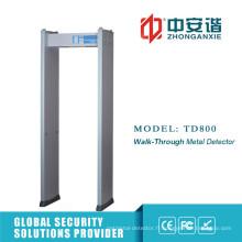 Détecteur de métaux interférentiel haute fréquence réglable à haute fréquence avec protection par mot de passe