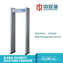 High Adjustable 50 Frequency Anti Interference Metal Detector with Password Protection