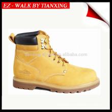 Zapatos de seguridad con cuero genuino y puntera de acero