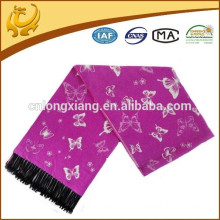 2015 New Design Fashionable Jacquard And Brushed Viscose Material Luxury Scarf For Woman