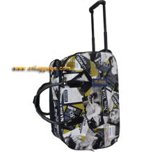 Fashion Traveling Trolley Bag cartoon design for kids