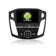 Glonass/GPS Android 4.4 Mirror-link TPMS DVR car radio player for Ford 2015 Focus with GPS/BT/TV/3G
