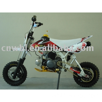 90cc Mini Xsix Dirt Bike With Chrome Frame And 36mm Sdg Front Fork