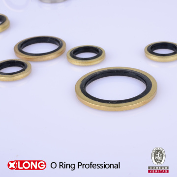 """Bsp Size1 / 8 """"-2"""" Bonded Seal for Dynamic Seal"""