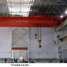 High quality Double Beam Bridge Girder Explosion Proof EOT Crane 50t for sale