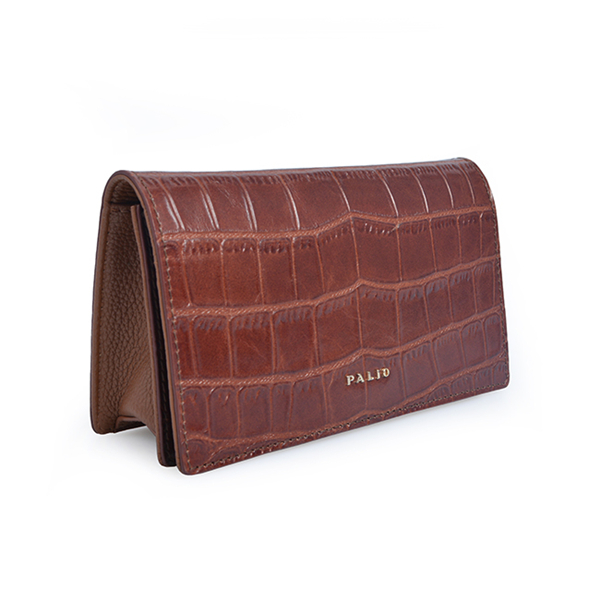 vintage crocodile genuine leather women flap crossbody bag