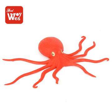 шаньтоу фабрика оптовая tpr мягкие резиновые осьминог игрушка для детей