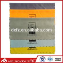 Impression sérigraphique promotionnelle Tissu de lunettes microfibres; Tissu de nettoyage d'objectif; Tissu de nettoyage de lunettes de soleil