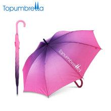 "23 ""8k gerade Chameleon ändern Farbe magische Regenschirm"