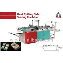 Heat Cutting Side Sealing bag making Machine