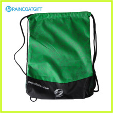 Give Away Logo Printed Polyester Drawstring Bags RGB-017
