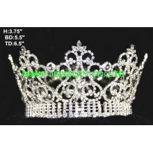 Couronne pleine couronne en cristal