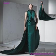 Новые приходят современный стиль без рукавов платье для выпускного вечера с коктейлем Трейлинг