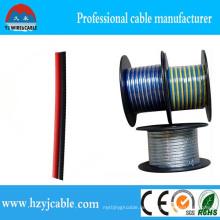 Zwei Farben Parallel Twin Cores PVC Jacke Fabrik Preis Lautsprecherkabel