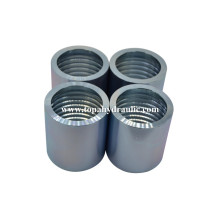 PriceList for for Hydraulic Hose Ferrule 00110 Silver Zinc complete marine steel ferrules export to China Macau Supplier