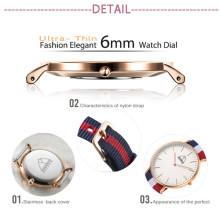 Montre de mouvement de montre-bracelet de montre de Noël de style de DW (DC-SZ124)