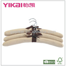Colgadores acolchados de algodón de alta calidad